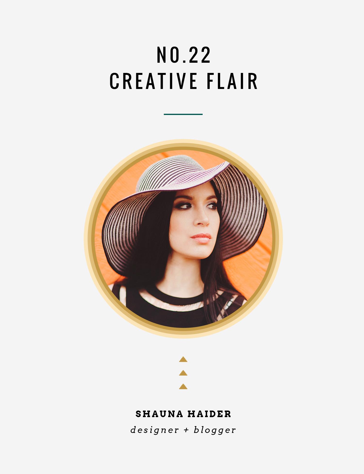 Creative Flair : Shauna Haider | InBetween the Curls
