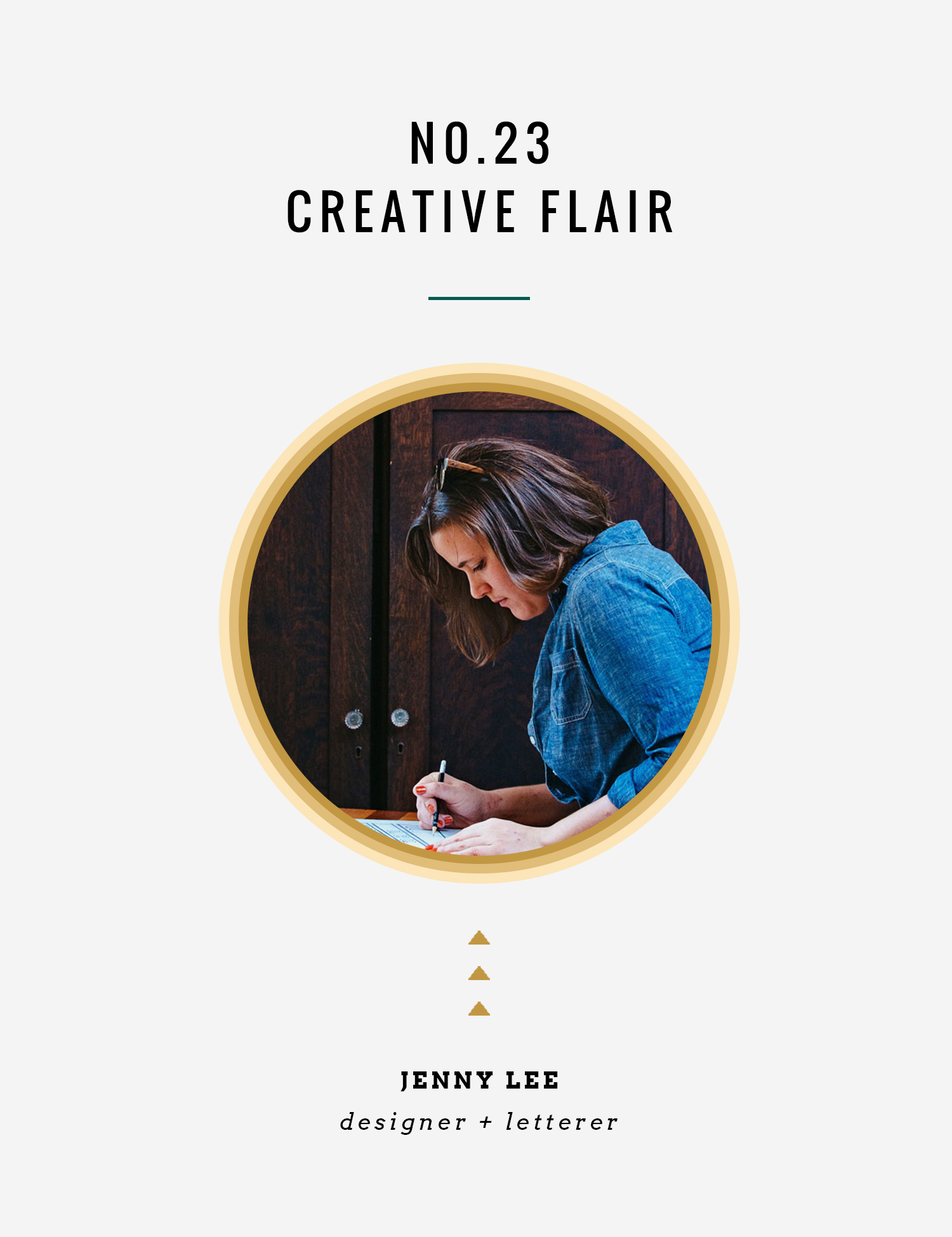 Creative Flair : Jenny Lee | InBetween the Curls