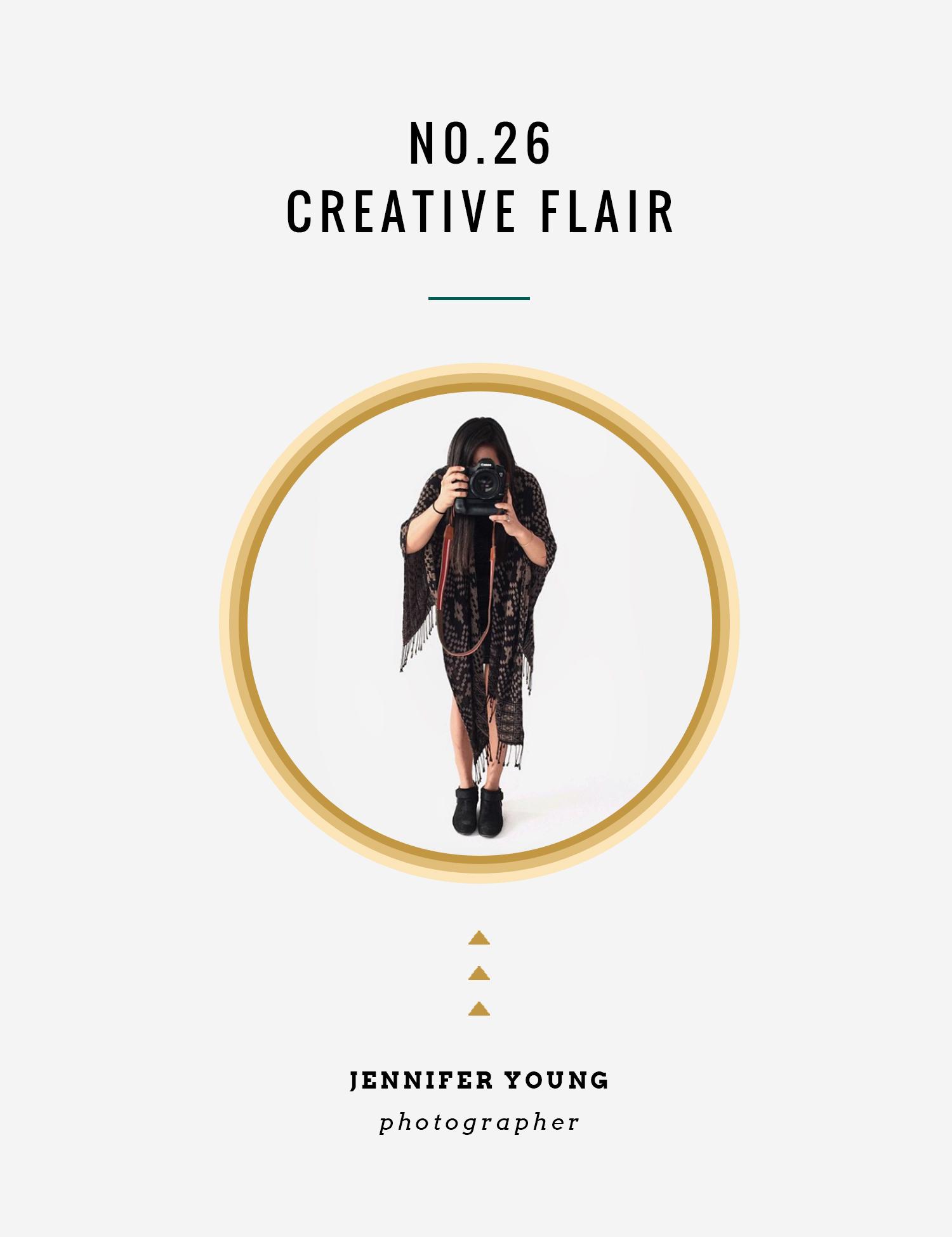 Creative Flair : Jennifer Young | InBetween the Curls