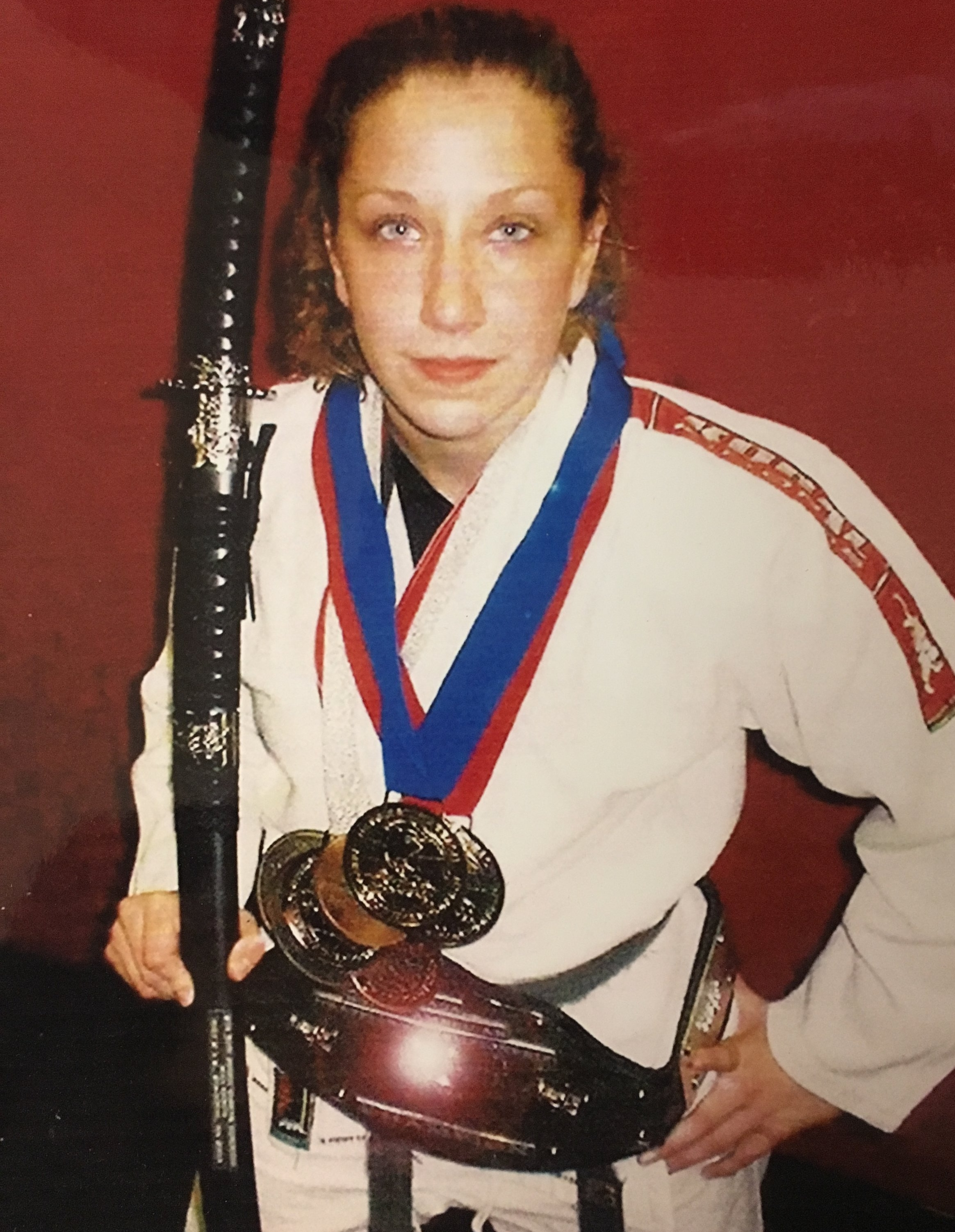 Erin Comstock - was the N.A.G.A #1 Ranked Female Grappler in 2004. Erin was Clinch Academy's first Black Belt under our Clinch Combat Jiu-Jitsu system.