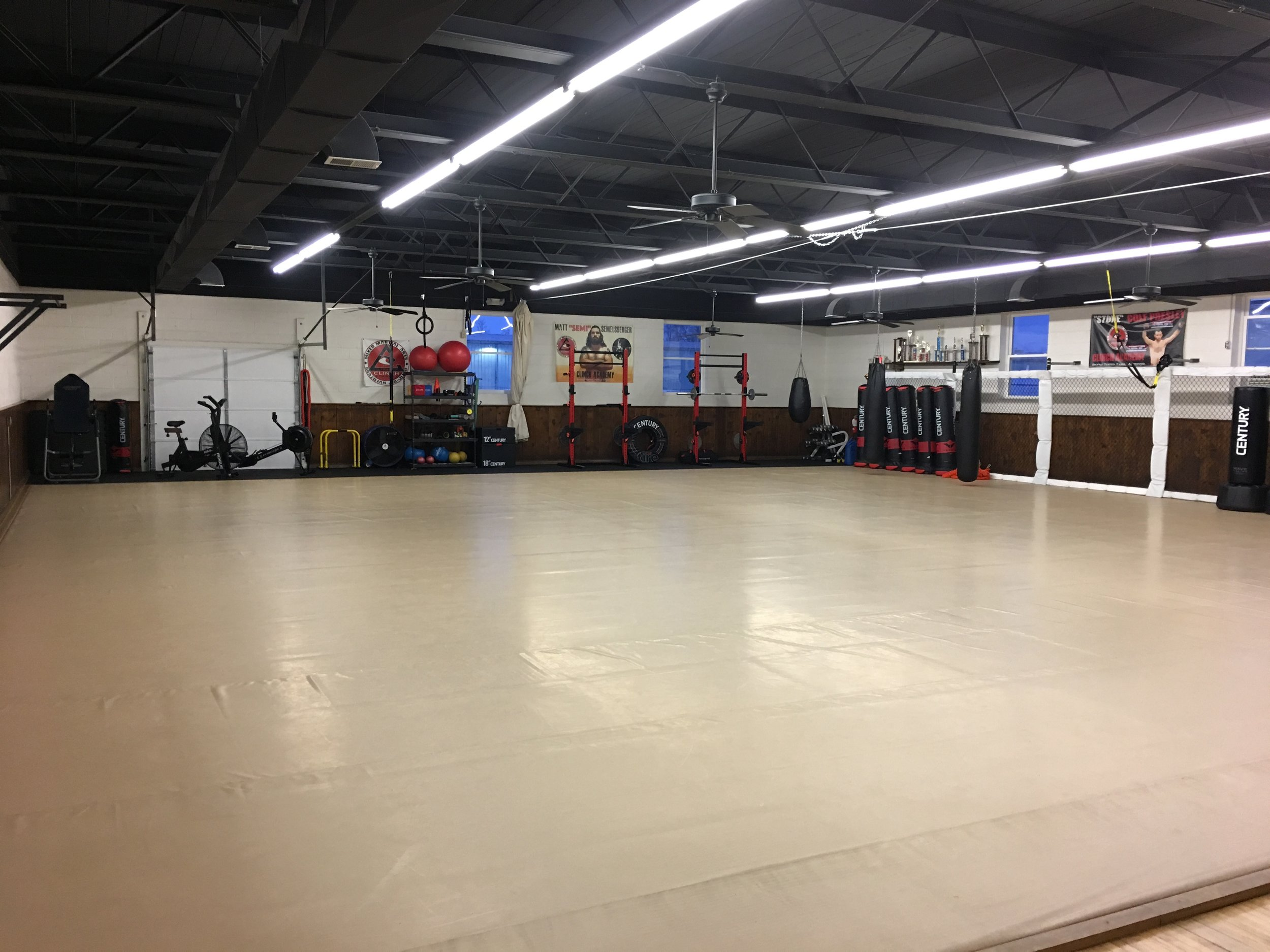 Big Mat Room 3,000 sq ft. -
