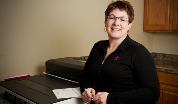 Financial Adminstrator Jennifer Norman