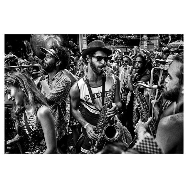 """Rio de Janeiro 1 - 2019 Céu na Terra Street Carnaval Parade  I had the privilege to photograph Rio de Janeiro for @viatortravel these past few weeks. I noticed by coincidence, or not, that I photographed a street carnaval parade named """"Céu na Terra"""" (Heaven on Earth) and some days later I got to photograph Rio from above. Listen and you'll hear the world call out to you too."""