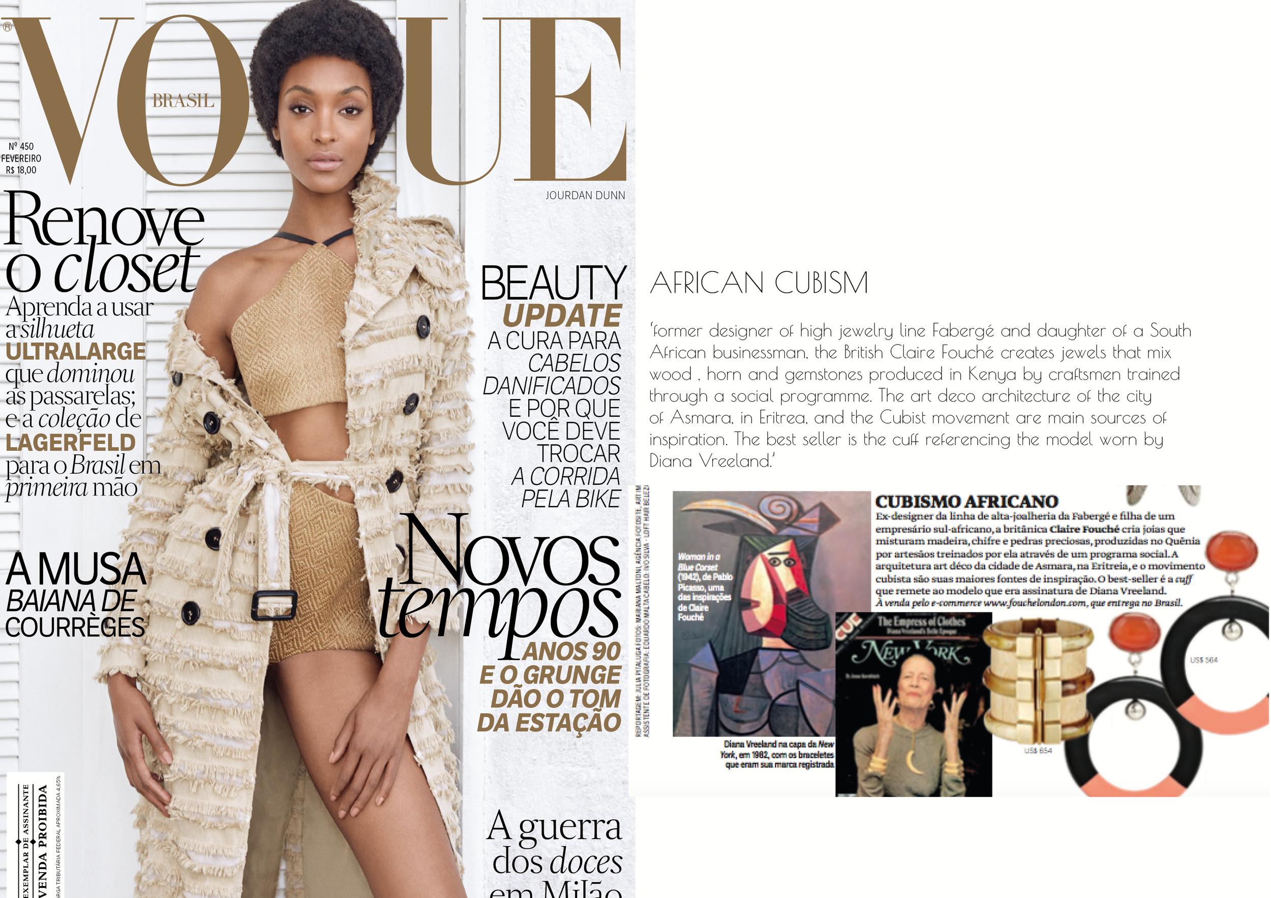 Vogue Brazil - February