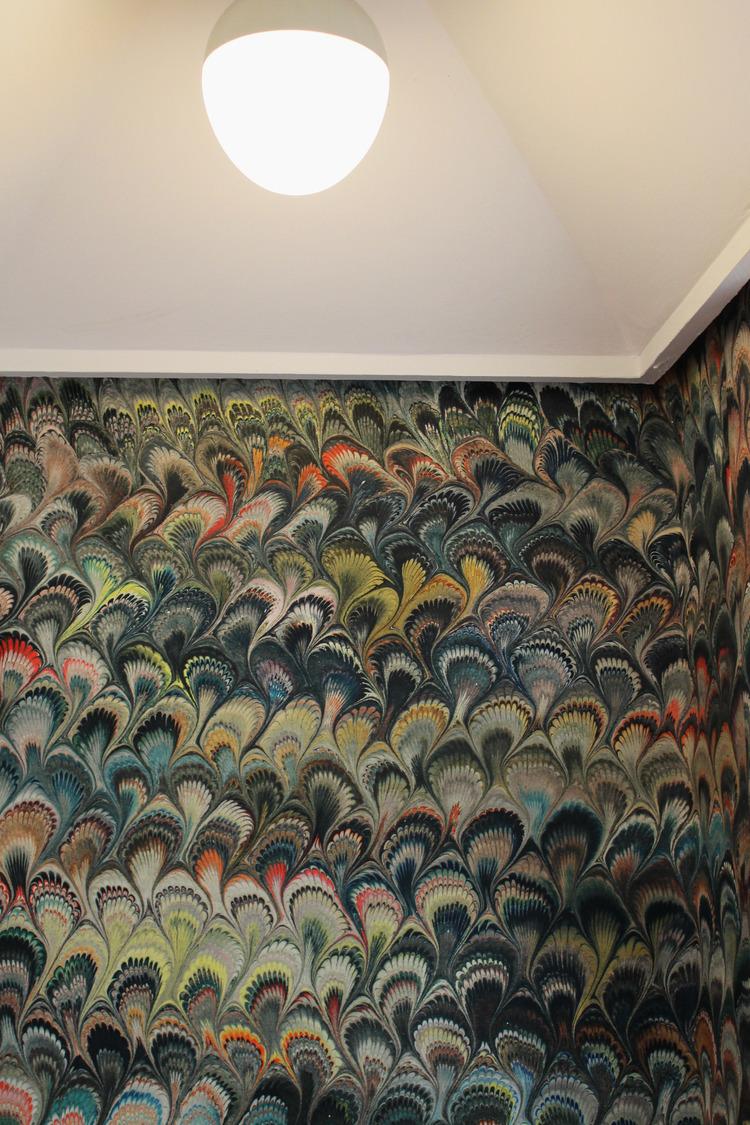 'Marbleised' Wallpaper