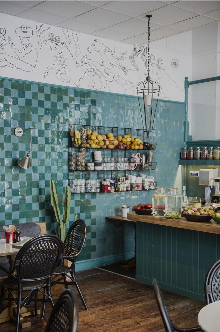 Beata's design for Farm Girl Café