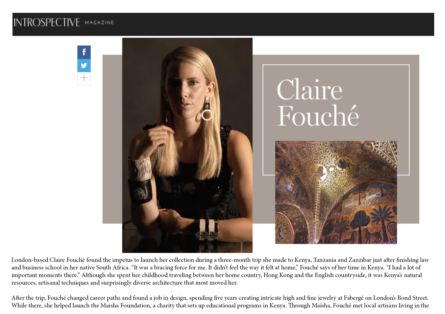 Interview with Claire Fouché