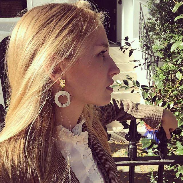Our new Kuba Scroll Earrings ~ limited stock ✨ . . .  #earrings #cowhorn #africa #safari #sustainablejewlry #sustainablefashion#ethicalfashion#ethicaljewellery#wishlist
