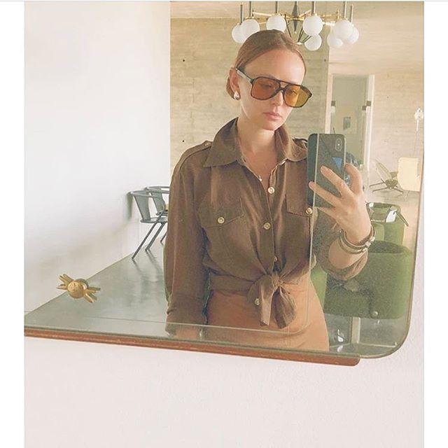 The gorgeous @amandadollsheppard wearing her Léa Cuff #summertravels 🏝