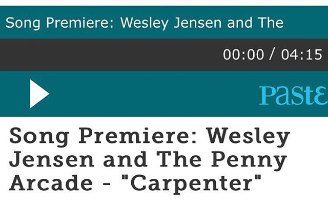 "@pastemagazine premiered the single ""Carpenter"" from our upcoming EP ""Something Blue"", which is the final chapter of our 4 part collection coming in October. Well, to be clear, it premiered back in 2016 when it was originally supposed to release. Ha! Either way, the song everyone has been asking about for years will finally be out TOMORROW on Spotify for your streaming pleasure. For now, go listen and read a nice outdated article about the album that never was at the link in our bio 🙌🏻🎉#single #premiere #betterlatethannever"