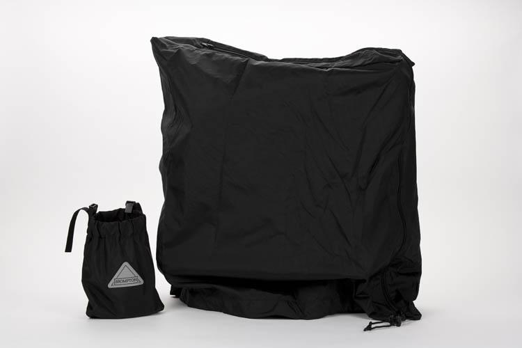 cover and saddle bag  -Cordura fabric
