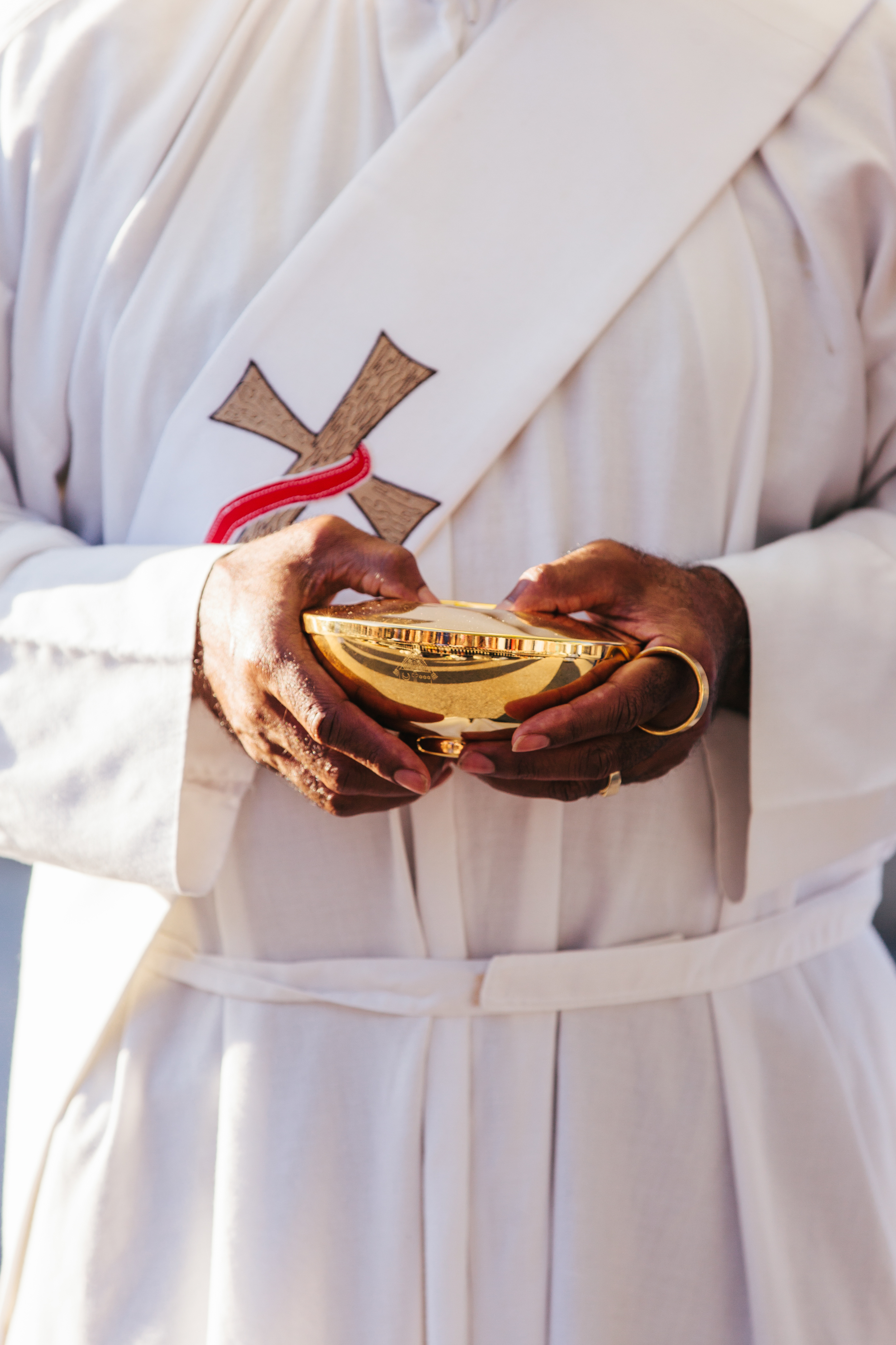 Priest at Pope Francis' Visit to the US