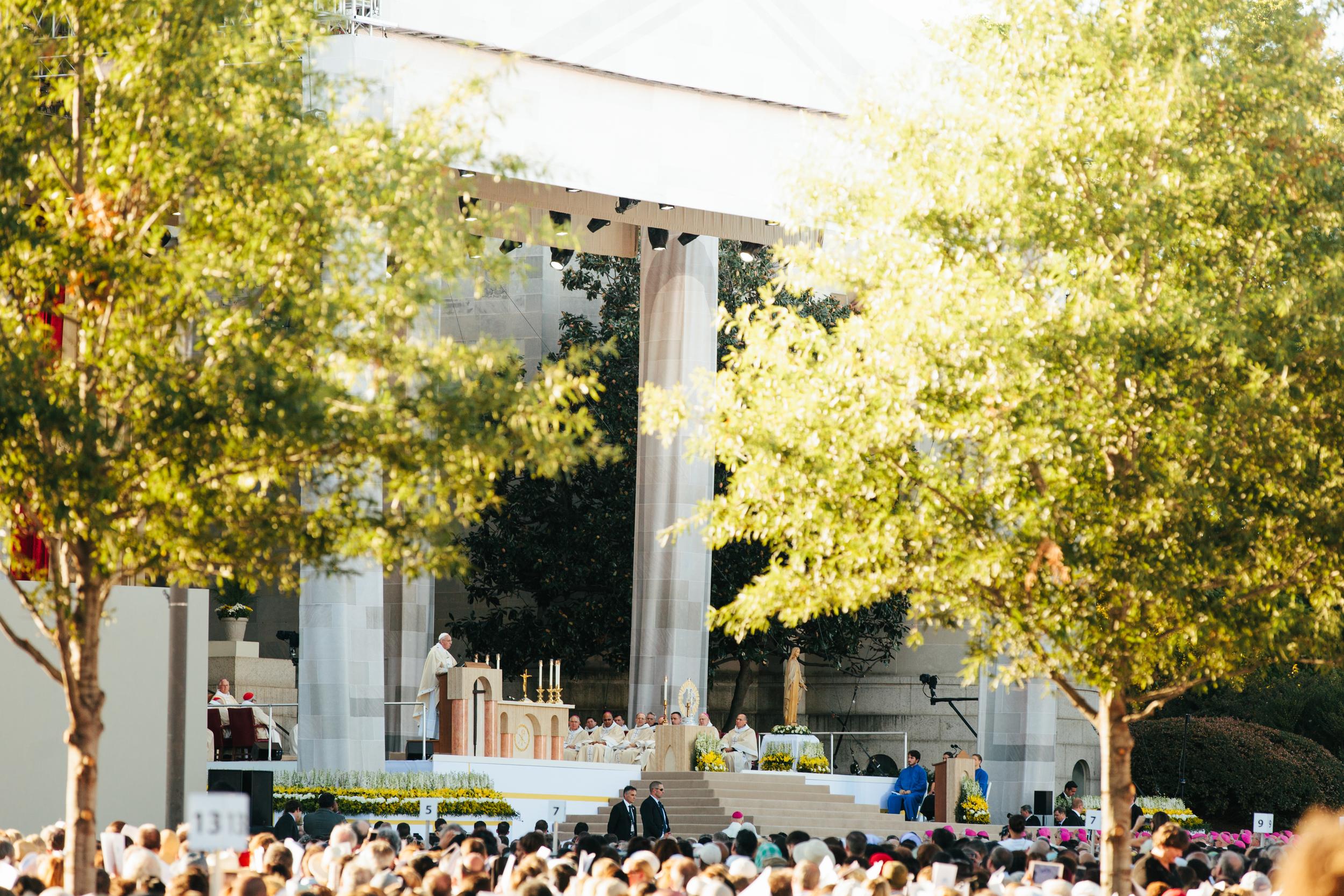 Pope Francis in Washington DC