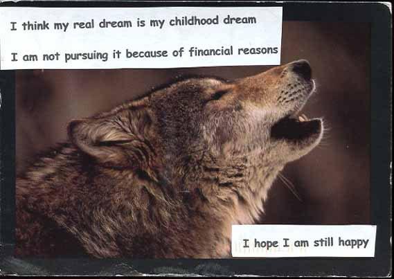 Childhood Dream PostSecret