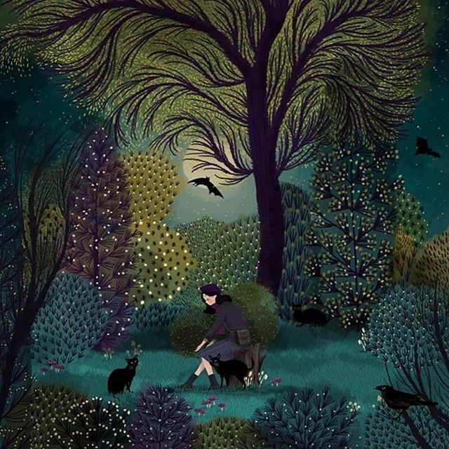 Beautiful illustration by Jane Newland (@jane_newland)