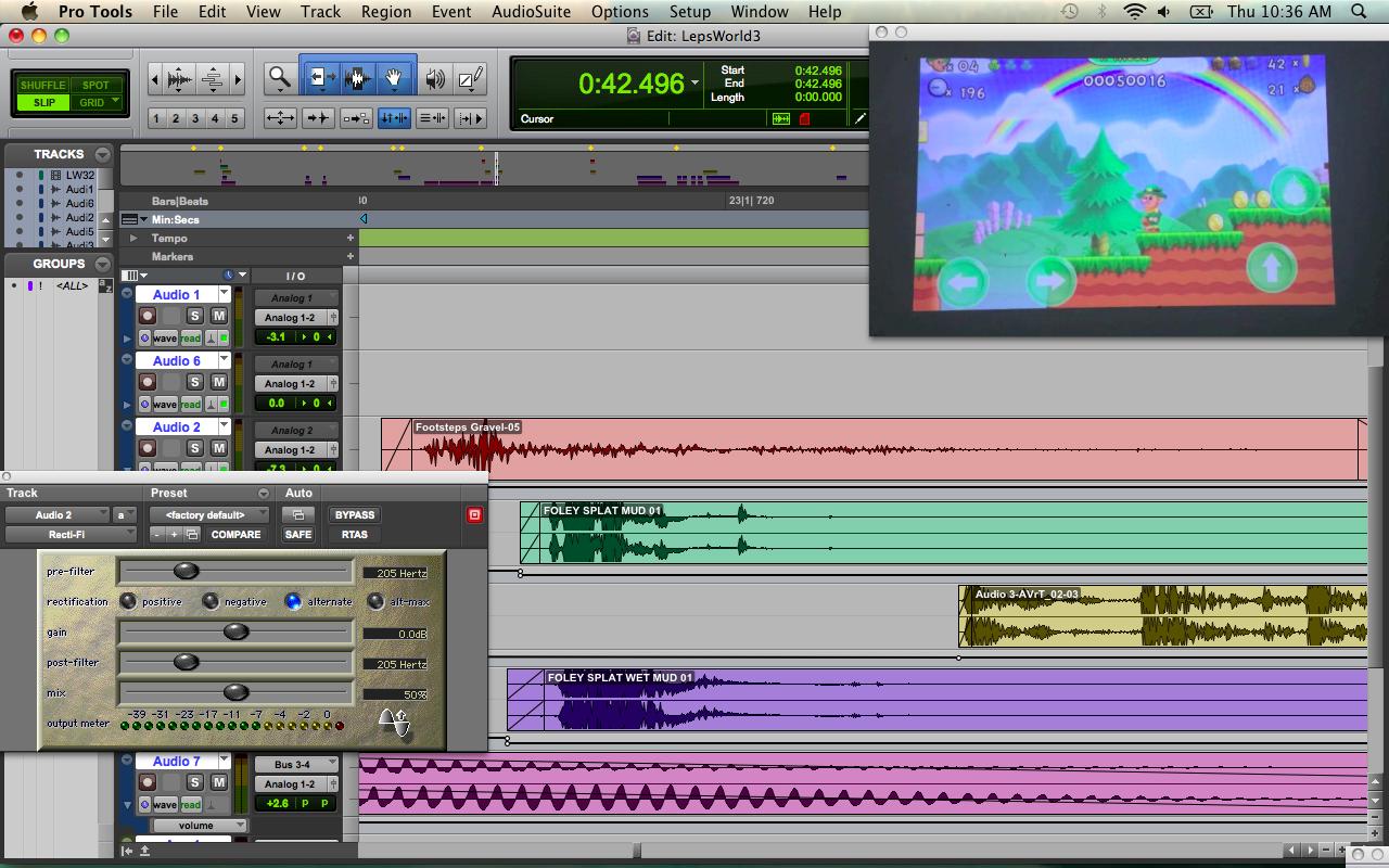 Sound Effects Design