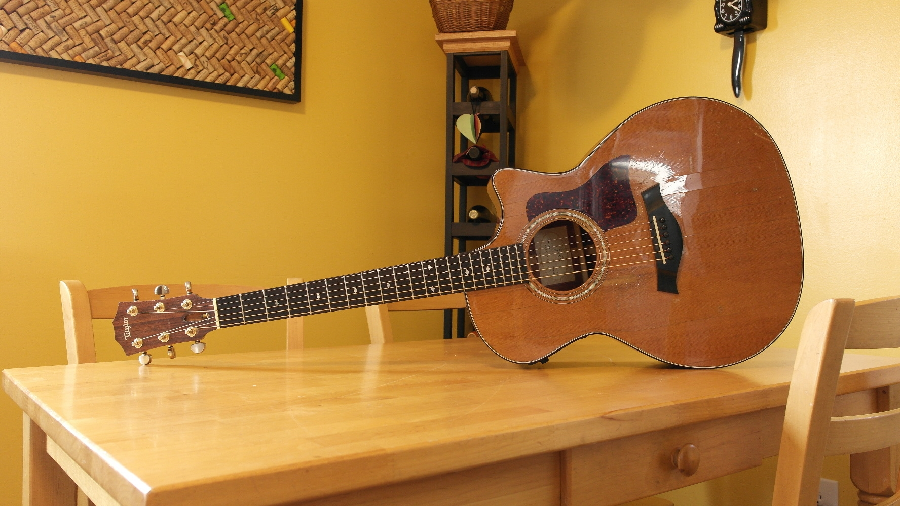 Todd's Taylor 514CE.  He's been playing her since 2001.