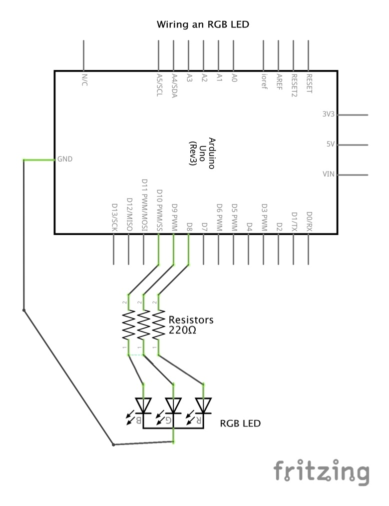 Click the image above to download a high resolution PDF of the LED schematics