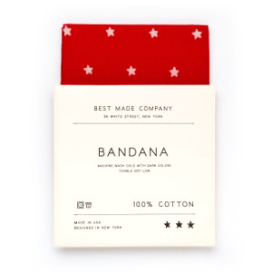 atelier mile away pick 2015: Red Bandana by Best Made Co.