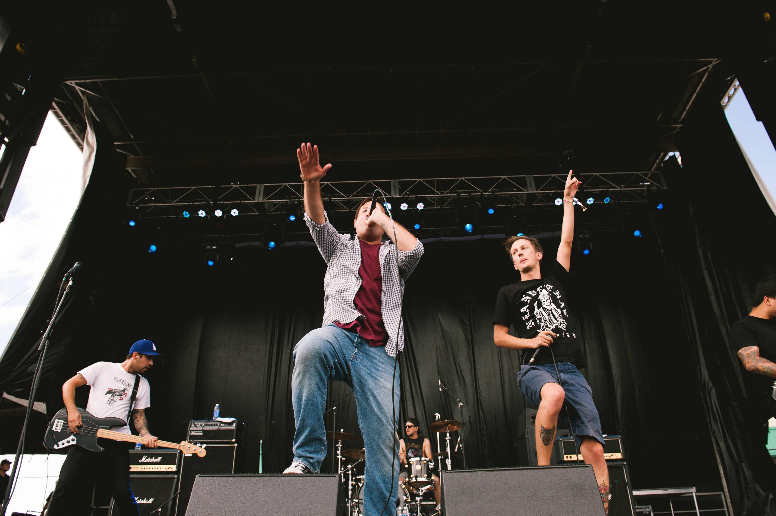 Set Your Goals at Riot Fest in Denver. Photo:   Shannon Shumaker