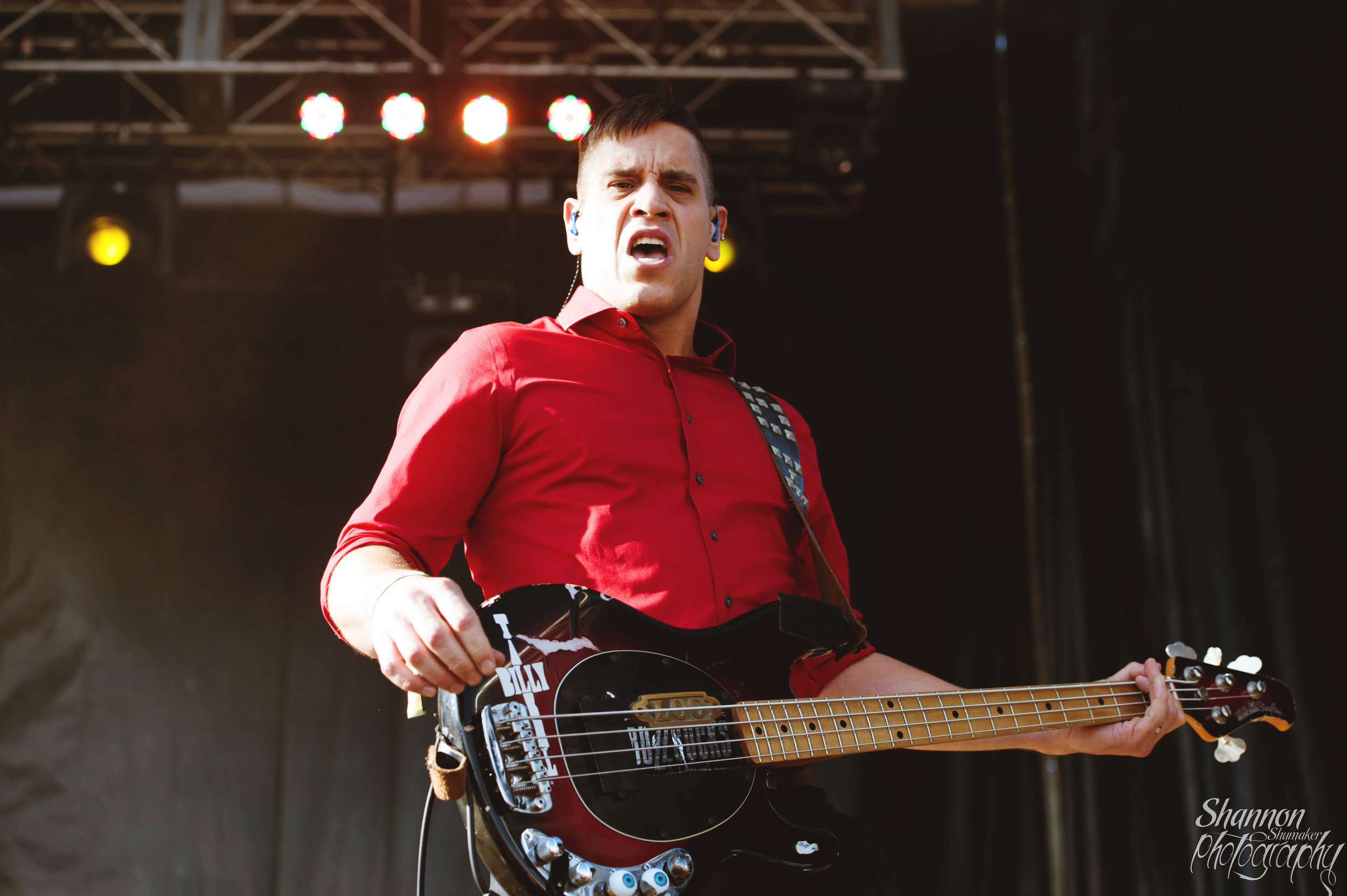 BILLY TALENT AT RIOT FEST IN DENVER. PHOTO:   SHANNON SHUMAKER