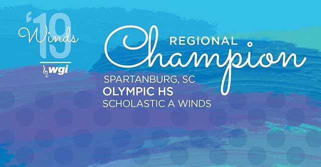Congrats to the Olympic HS Winds on their Regional Championship this weekend! #RMDsquad