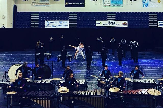 Mechanicsburg HS rocking it in finals at #wgiEast! #RMDsquad 📷: @wgisportofthearts