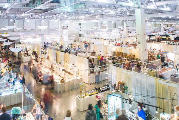 Show -The largest volunteer run gem & mineral show in the world is made possible by our members and generous donations.