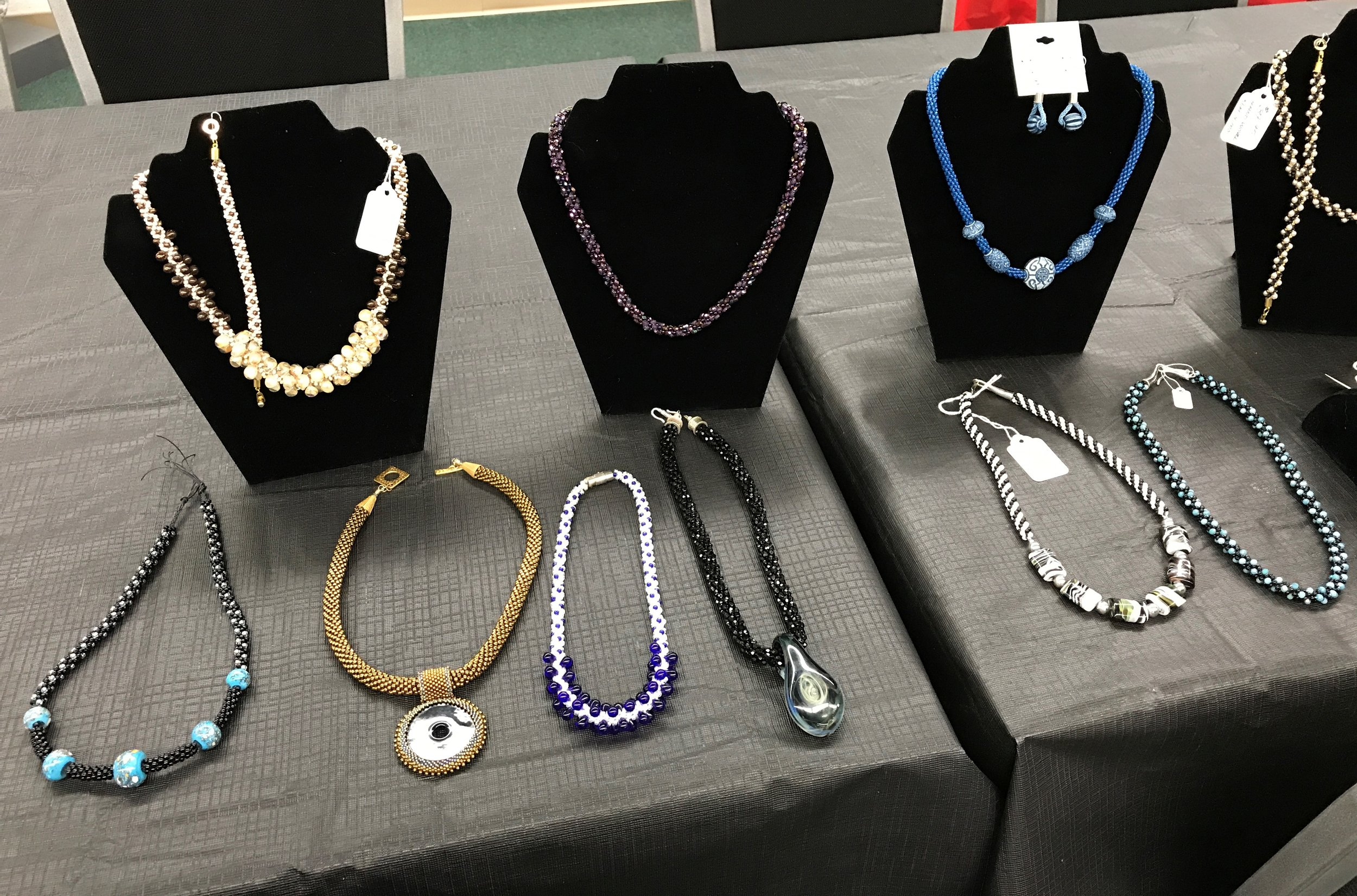 Some of the lovely pieces of jewlery