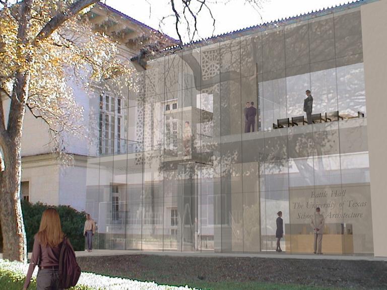 Perspective - Rendering Marla Smith  Design Coordination-Michael Benedict