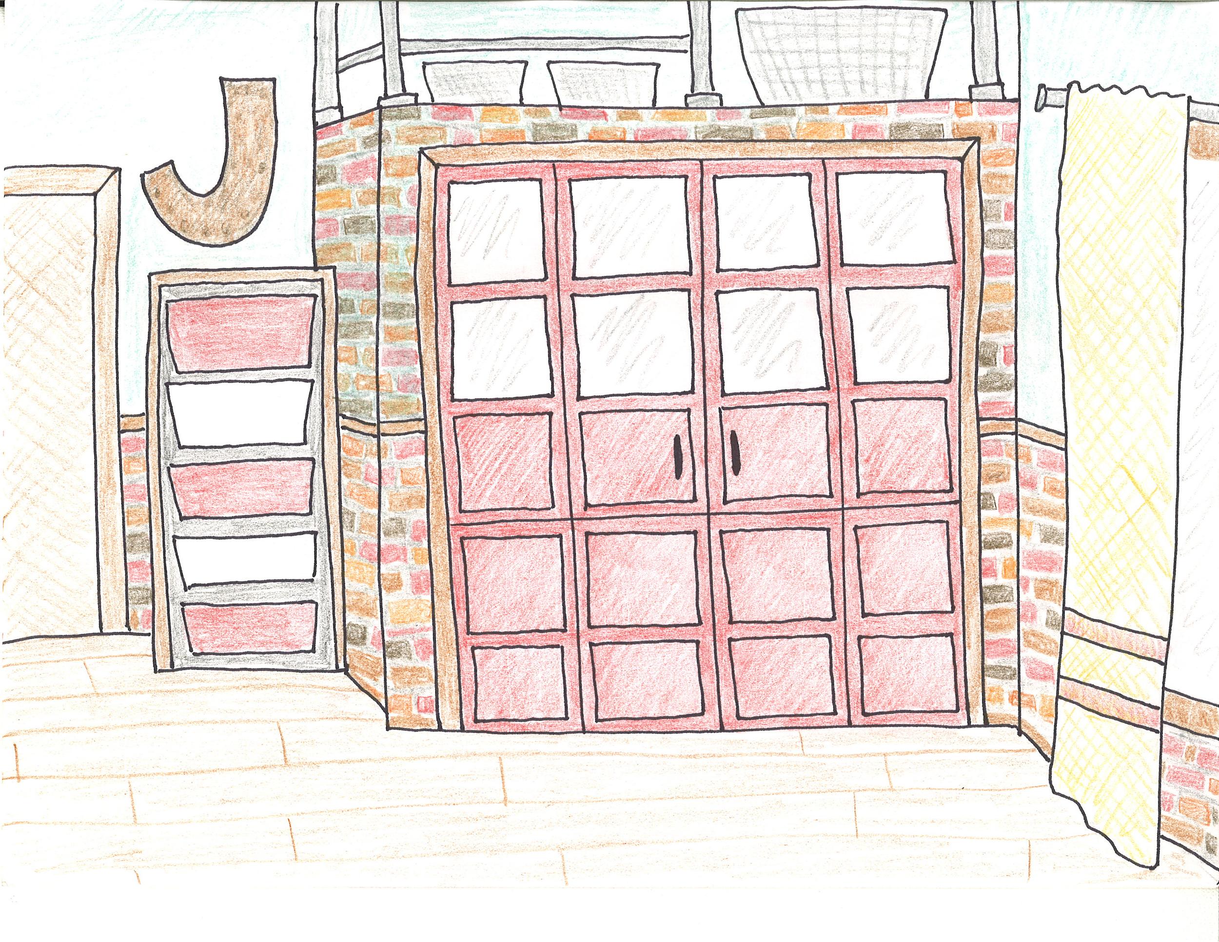 Closet Door Sketch