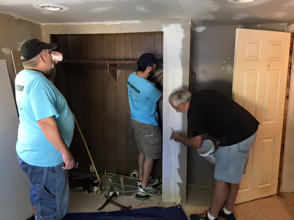 Bob, Greg, and Keith getting to work!