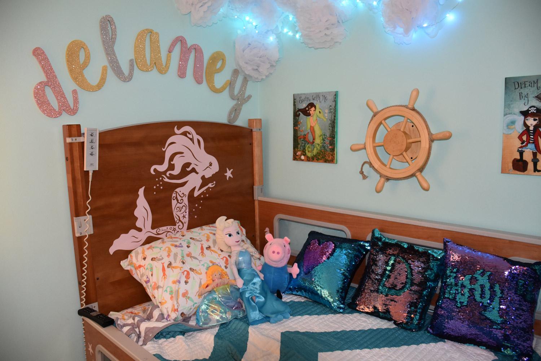 SleepSafe bed transformed