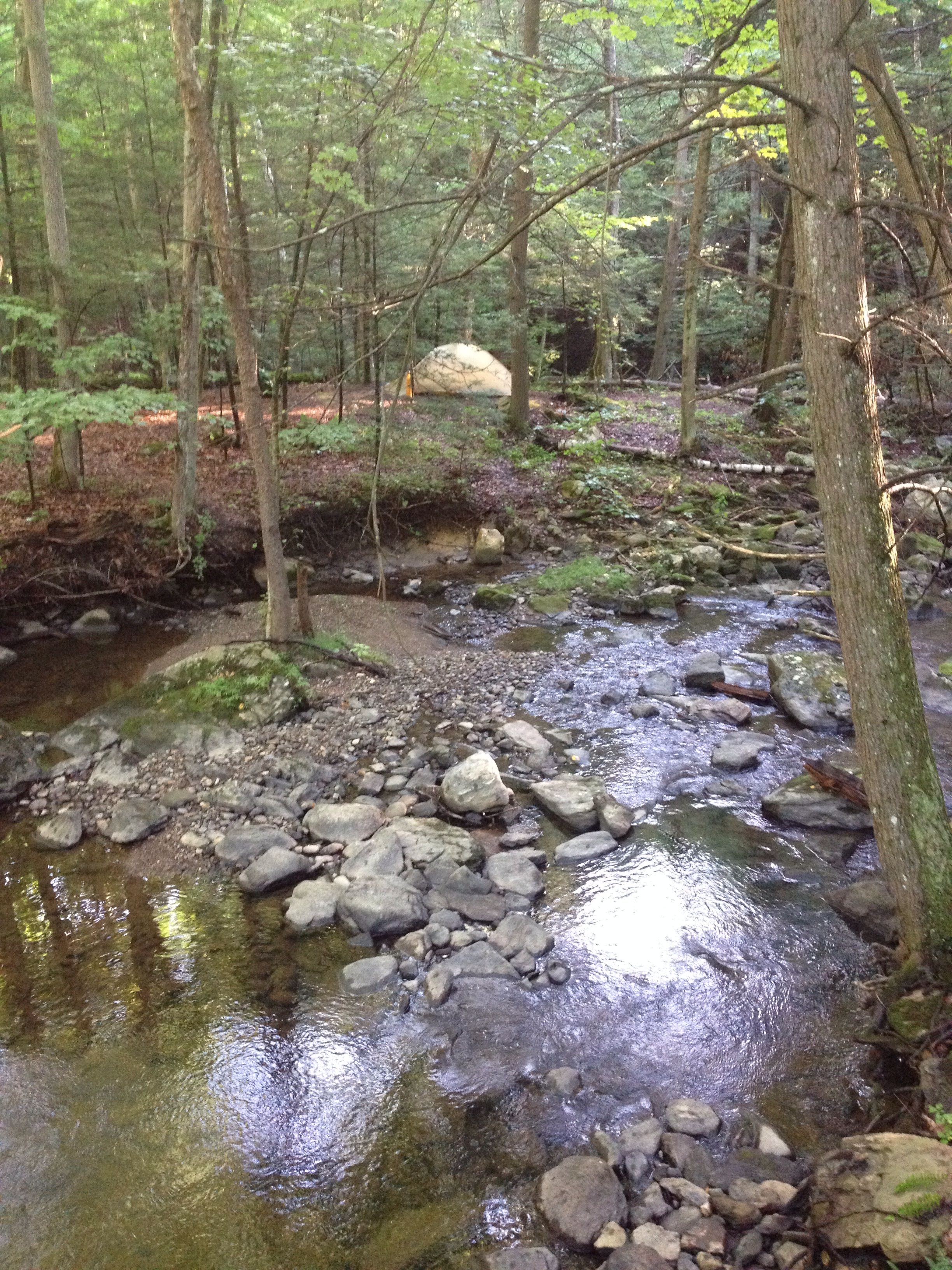 One of my favorite campsites in northern New York.