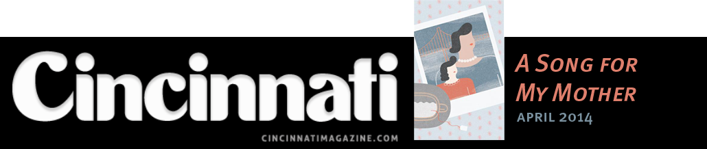 Click on the banner above to check out my most recent piece in Cincinnati Magazine.