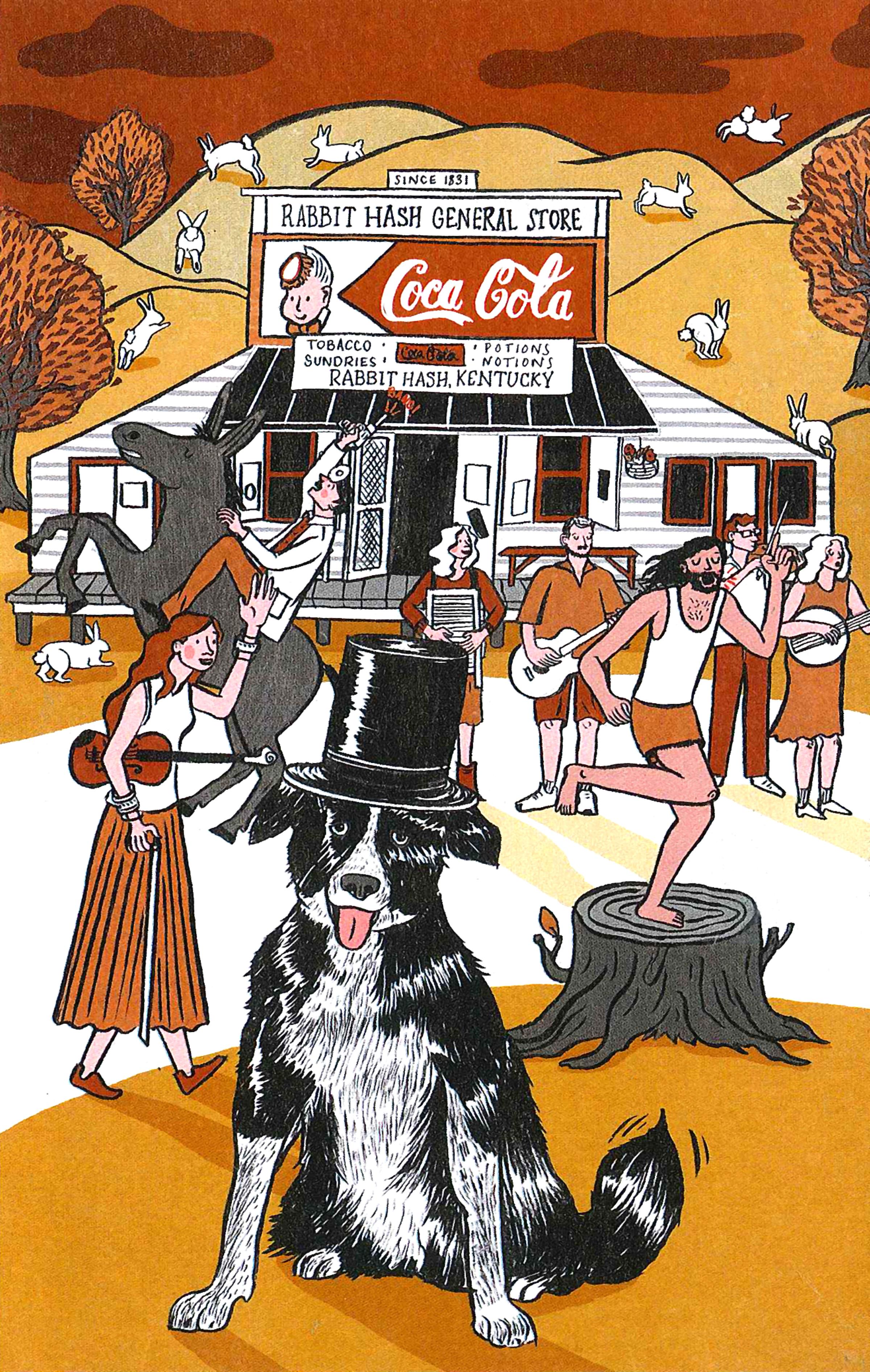 Illustration by Vidhya Nagarajan Cincinnati Magazine - October2014
