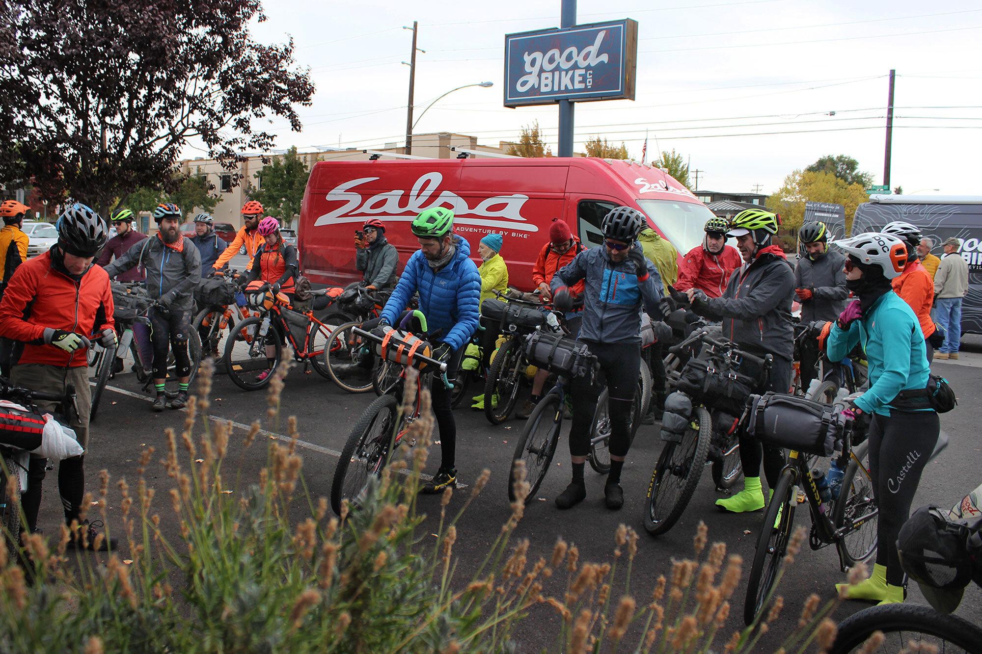 2018 Ochoco Overlander - 40 Riders4 Days220 Miles18,000+ Feet