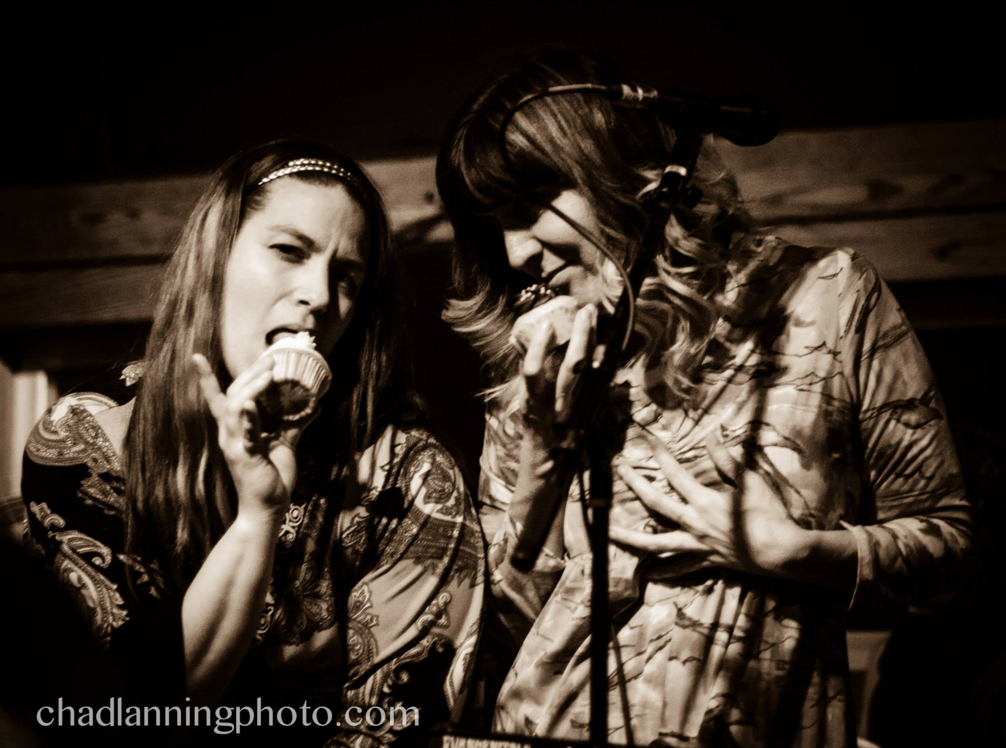 Juli C and Lisa Dee of the Evangenitals