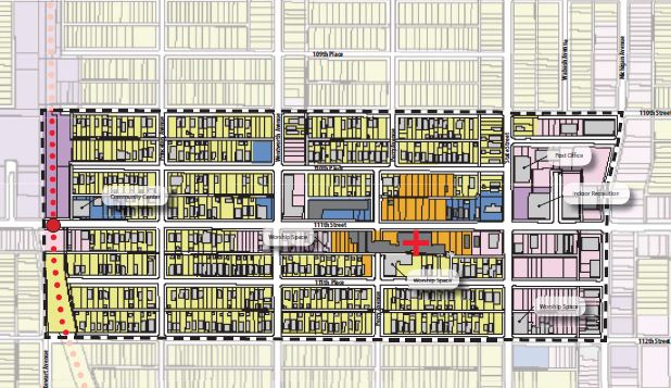 Land use plan for the Roseland Community Medical District.   Leon Walker is a Commissioner on the Board for the Roseland Community Medical District. The Roseland Medical District is the first new medical district in Chicago since the formation of the Illinois Medical District in 1941, and it is designed to promote health care services and economic development on the far south side of Chicago. The nine Commissioners are appointed by the Governor of Illinois, the President of Cook County, and the Mayor of Chicago. Click  here  to learn more about the Roseland Community Medical District.