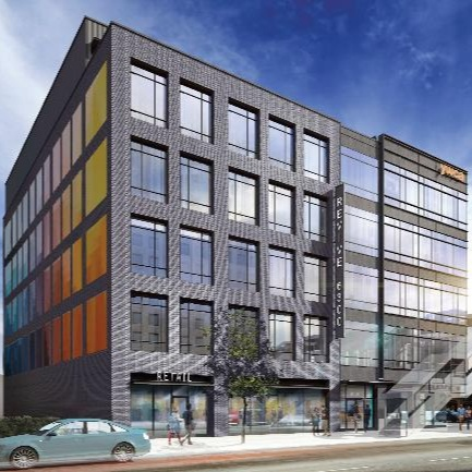 Empowering EntrepreneursRevive 6300 - 72,000 sf of mixed-use office and retail spaceWoodlawn, ChicagoESTIMATED COMPLETION Q2 2021