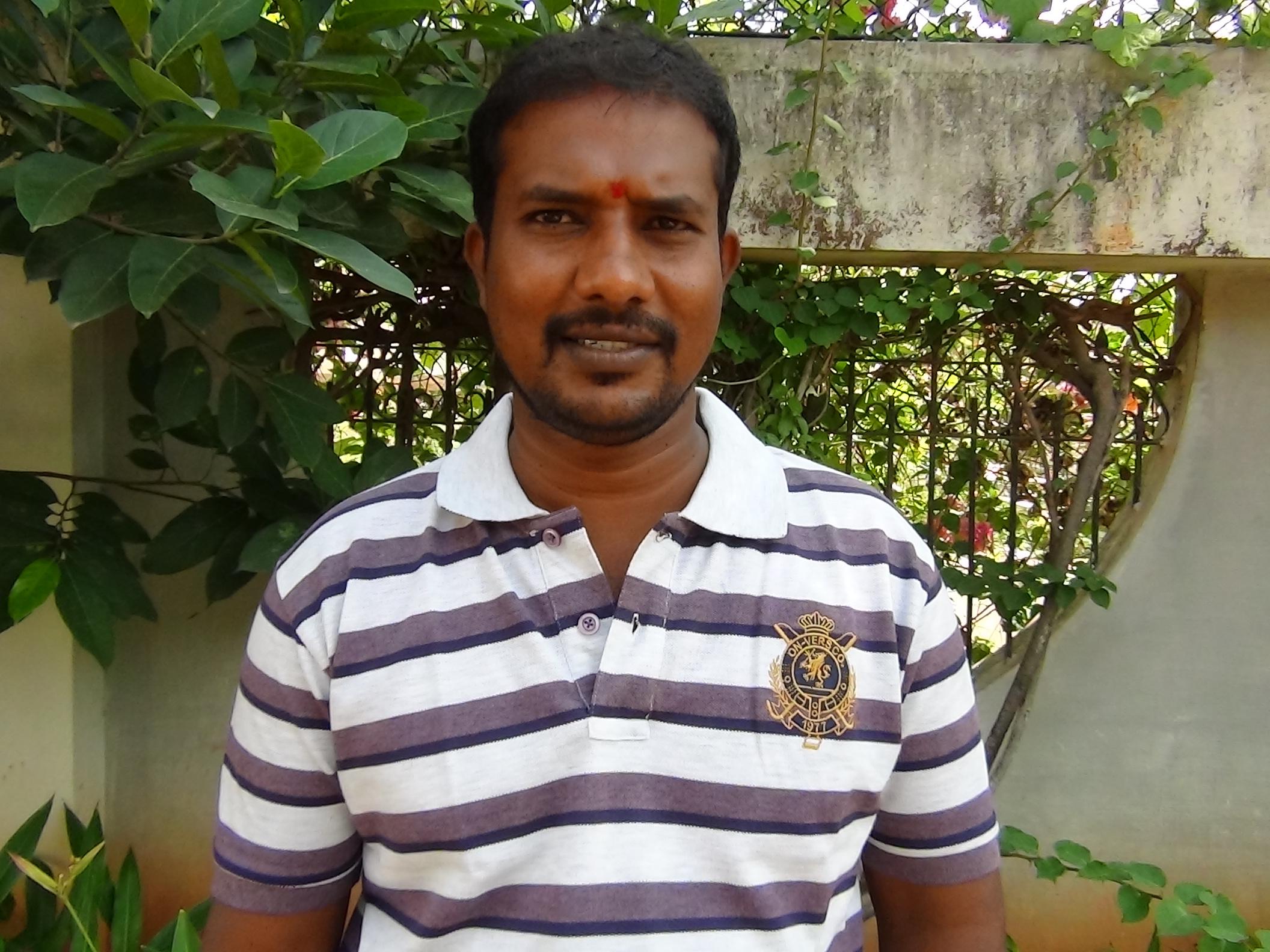 Murali H.T., Driver cum Outreach Worker