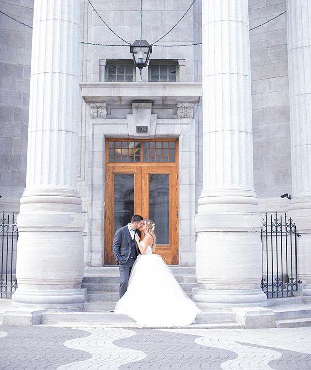Ces deux-là... ❤️ Déjà une semaine qu'ils sont mariés! @alnad53