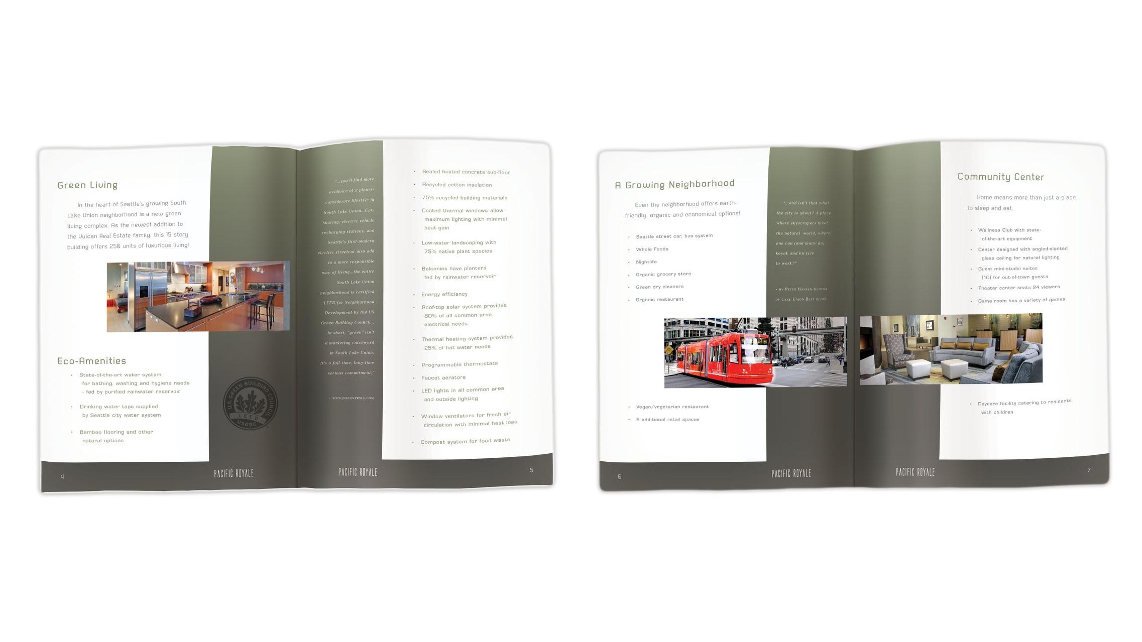 Amenities Brochure