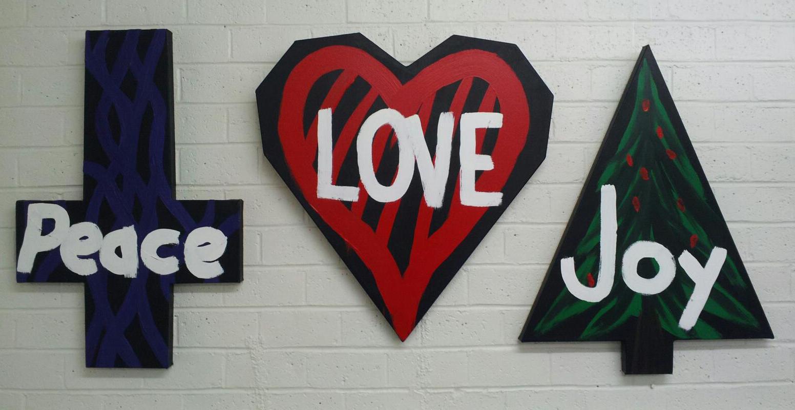 Peace, Love, and Joy