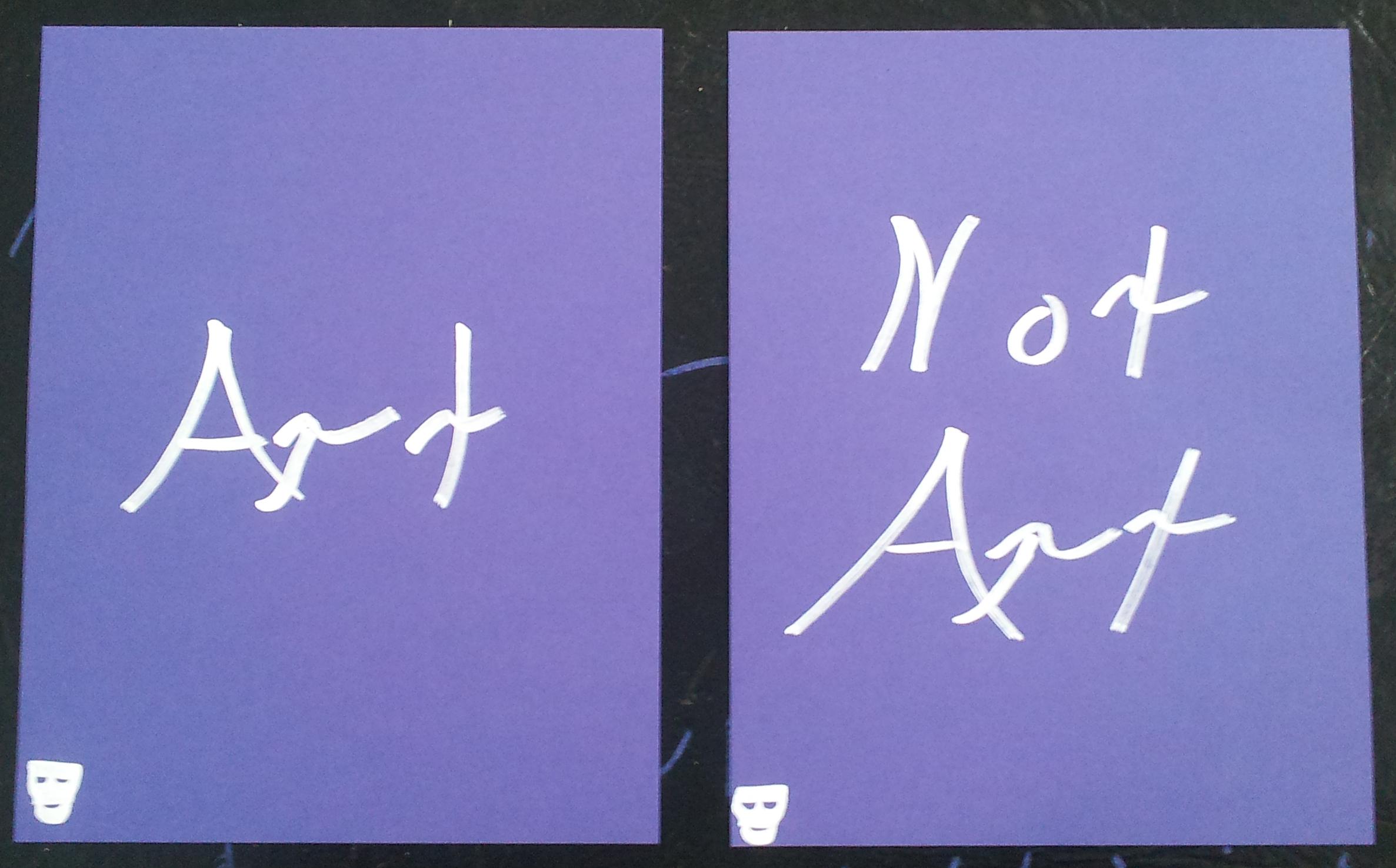 Art - Not Art