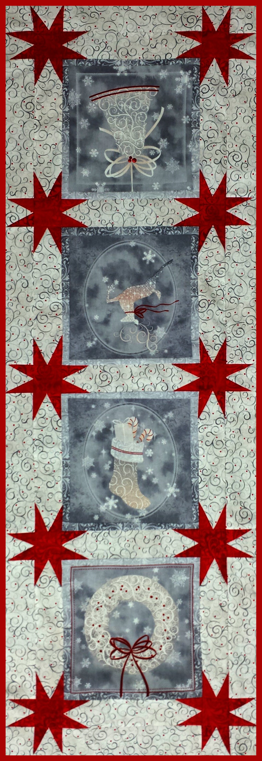 Panels with Christmas themes