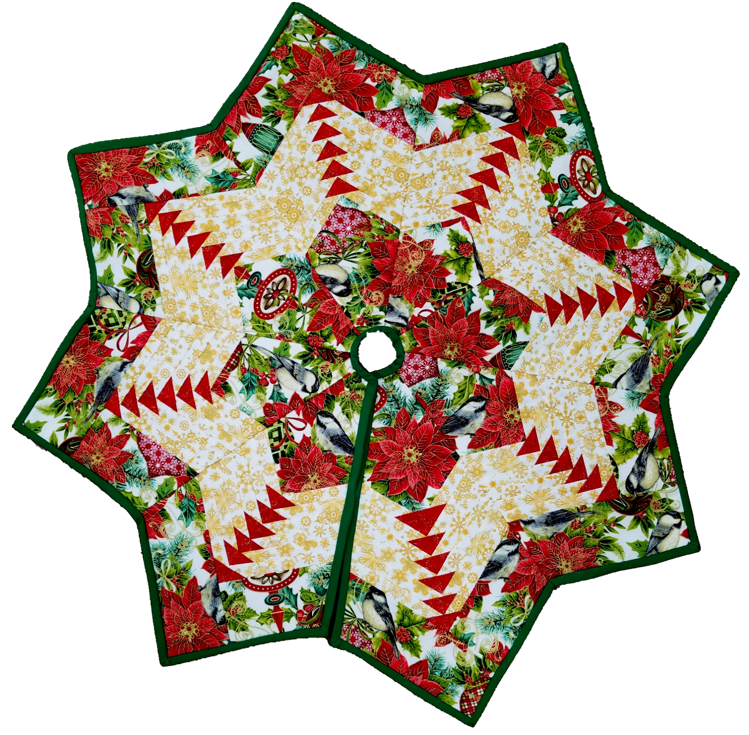 Small Quilted Tree Skirt