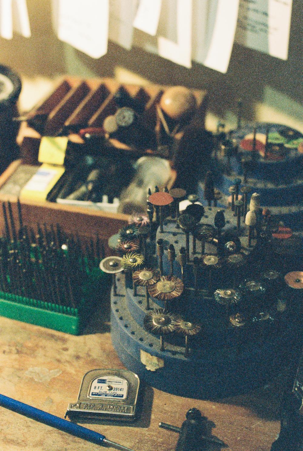 Broken Pine Workspace - Portra 400 on Nikon N90s