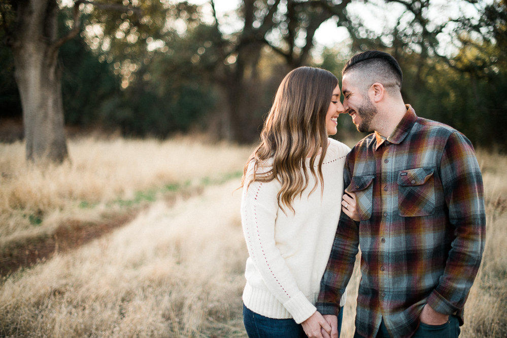 Engagement in Upper Bidwell Park | Kait & Marc | Chico Engagement Photographer - Heather Selzer