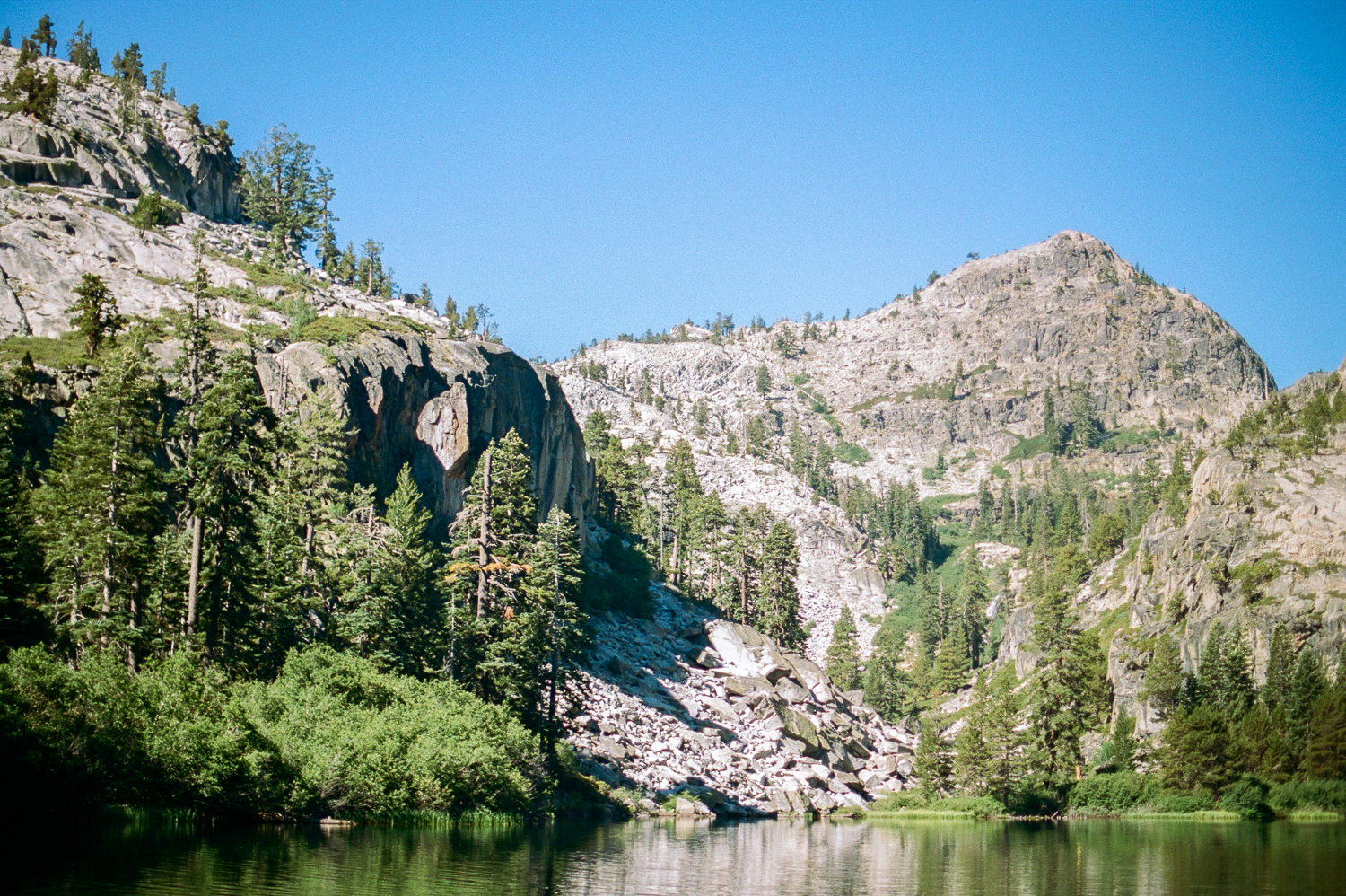 Eagle Lake in South Lake Tahoe | Nikon F100 on Portra 400